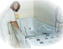 Medical Bathhouse PRAHA – a massage bathtub